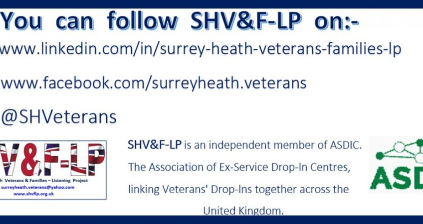 Surrey Heath Veterans