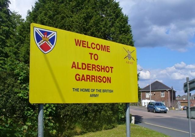 Aldershot Garrison