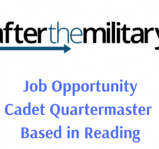 Job Opportunity, Cadet Quartermaster