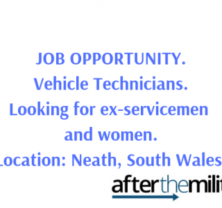 Job opportunity - Vehicle Technician
